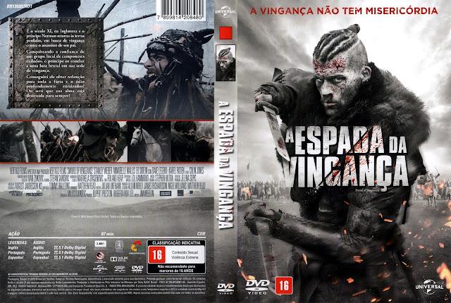 Capa DVD A Espada da Vingança