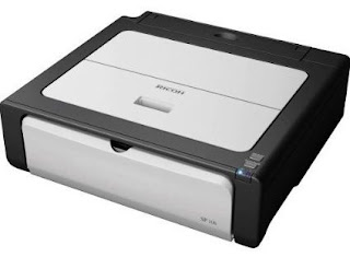 Aficio Ricoh SP 100 Printer Driver Windows