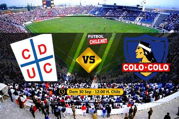 Mira Universidad Católica vs Colo Colo en vivo y online por la Primera División