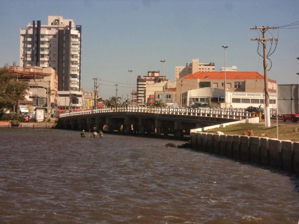 A Ponte da Sardinha Liga Imbé e Tramandaí
