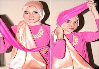 Tutorial Hijab Pesta Simpel Tampil Menawan di Acara Khusus