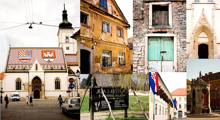 tourist sights of Croatia