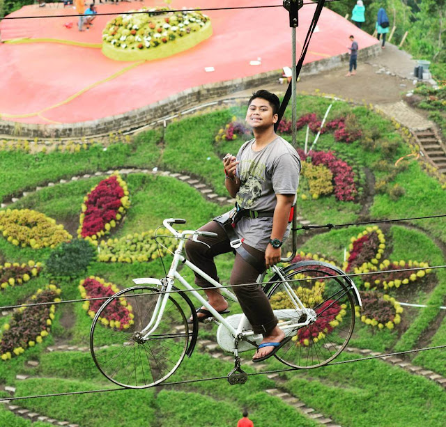skybike di batu flower garden