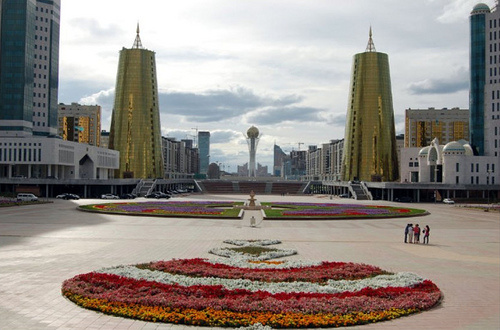 La ciudad del NWO - Astana, Khazakhstan
