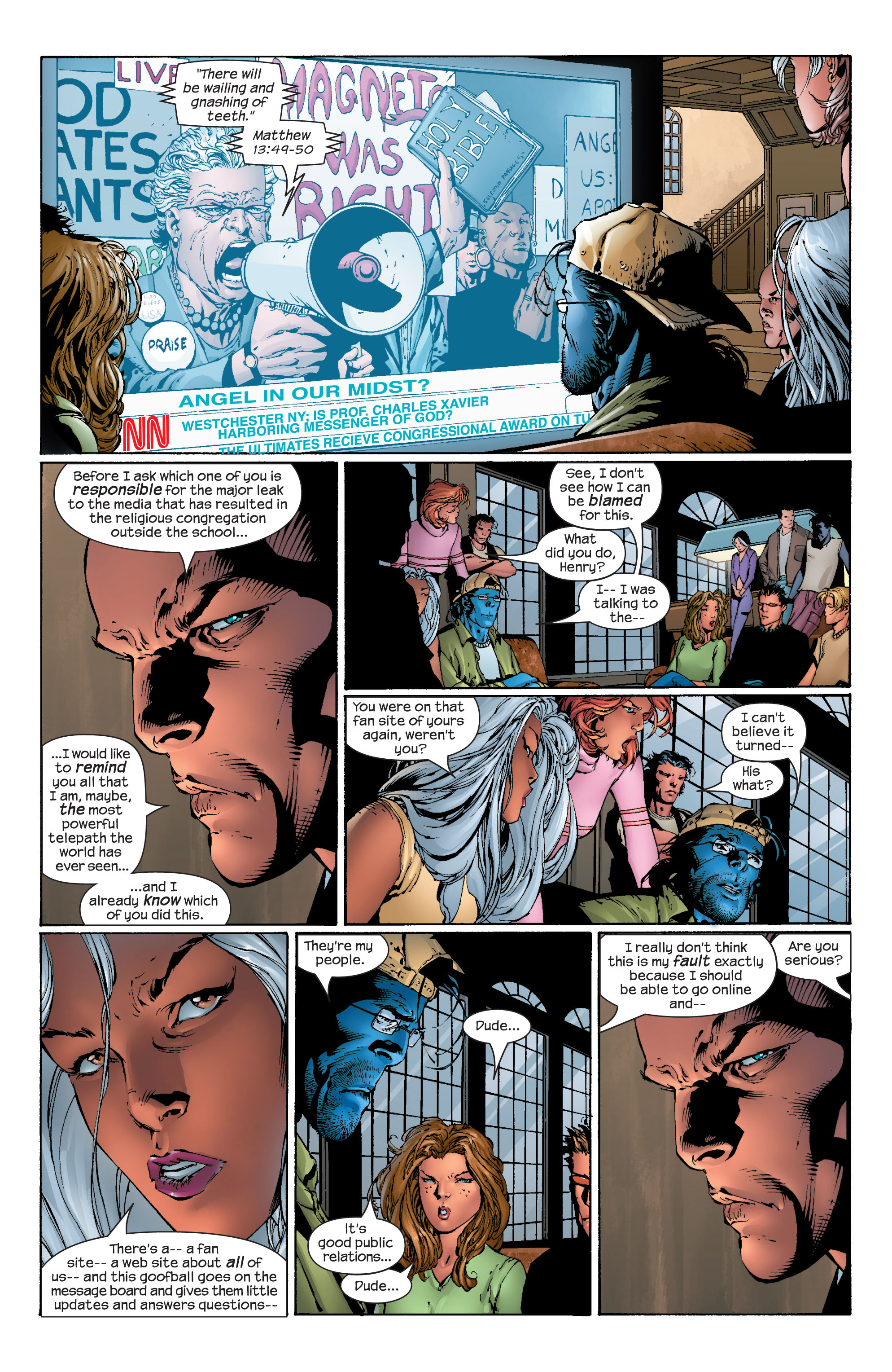 Read online Ultimate X-Men comic -  Issue #40 - 10