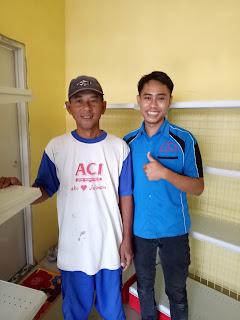 Orderan Rak Minimarket DC 82 Toko Snack Adiyasa Balaraja Tangerang