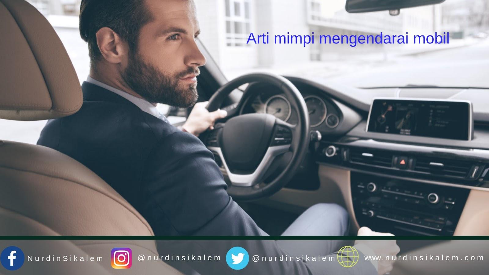 Mimpi mengendarai mobil