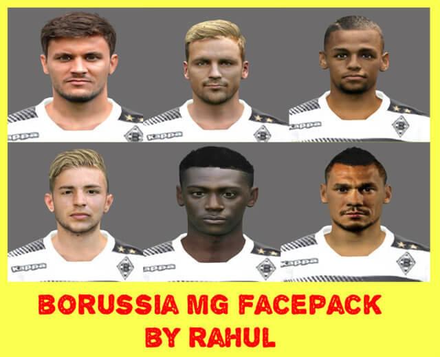 PES 2017 Borussia Mönchengladbach Facepack