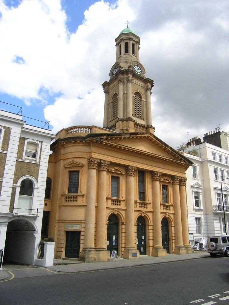 Notting Hill London: ChurchCrawls: St Peter, Kensington Park Road, Notting Hill