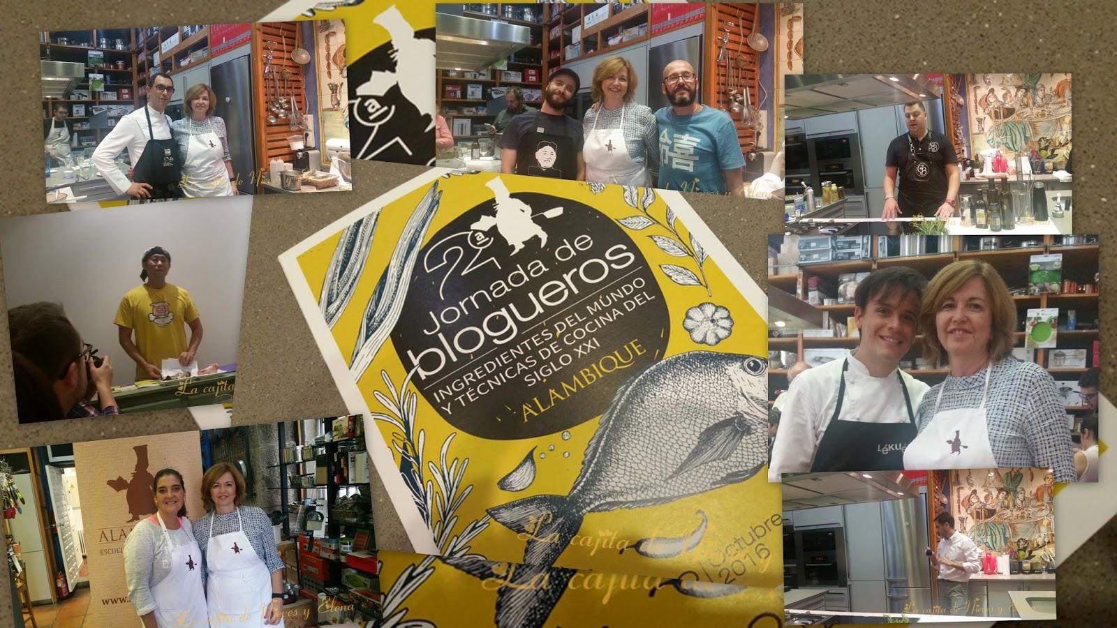 2 jornada de blogueros alambique for Alambique madrid