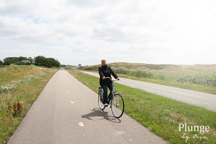 Biking around Texel