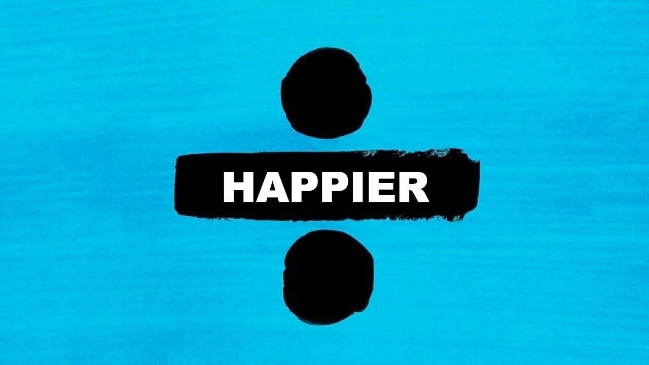 Ed Sheeran Happier Guitar Chords Lyrics Kunci Gitar