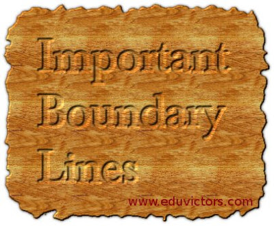 World Geography- Important Boundary Lines