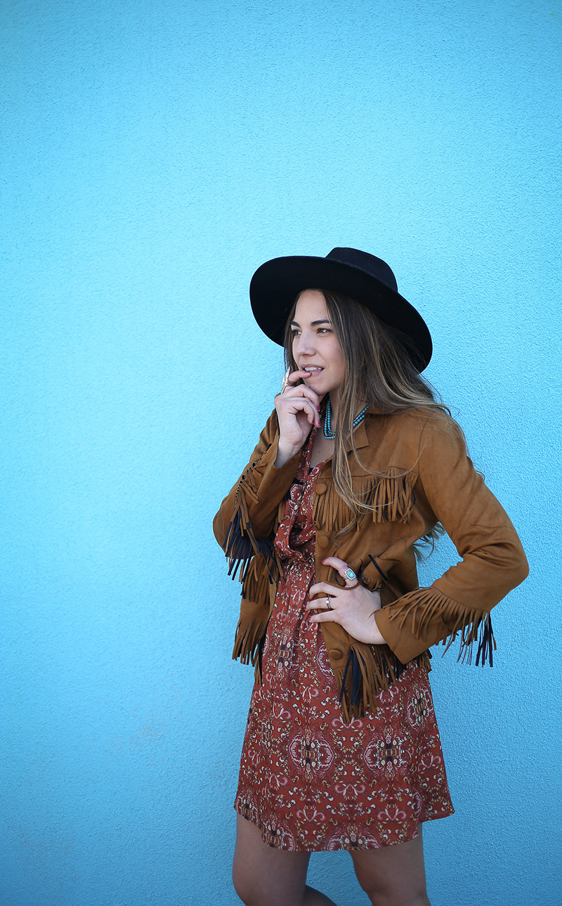 western outfit, how to dress boho