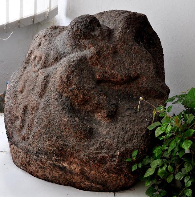 Głaz z przedstawieniem mitologicznym/kultowym z Leźna