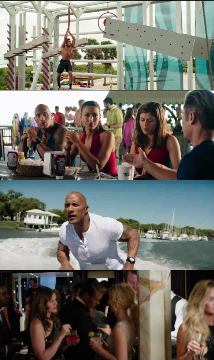 Guardianes de la Bahía (2017) DVDRip Latino MEGA