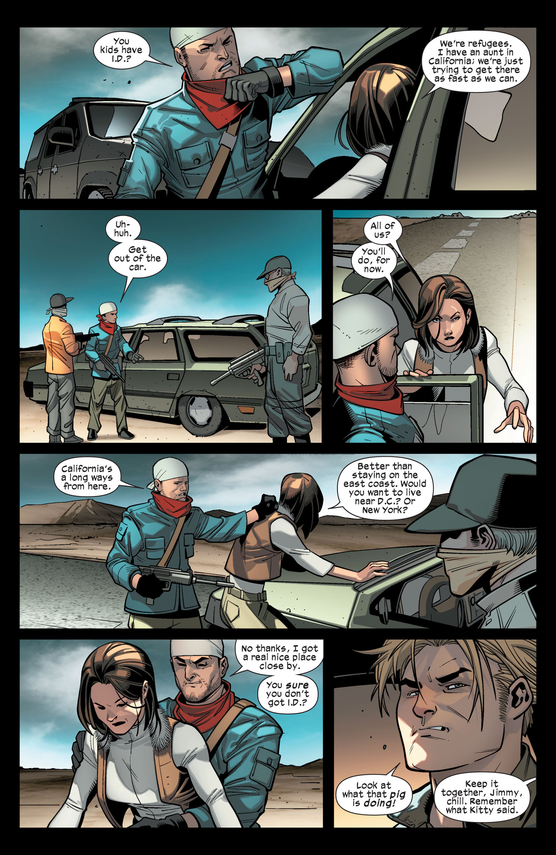 Read online Ultimate Comics X-Men comic -  Issue #14 - 16