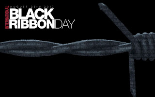 International Black Ribbon Day August 23 2012