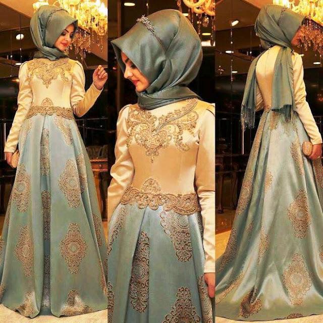 Inspirasi Gaun Muslimah Cantik dan Trendy 2001601