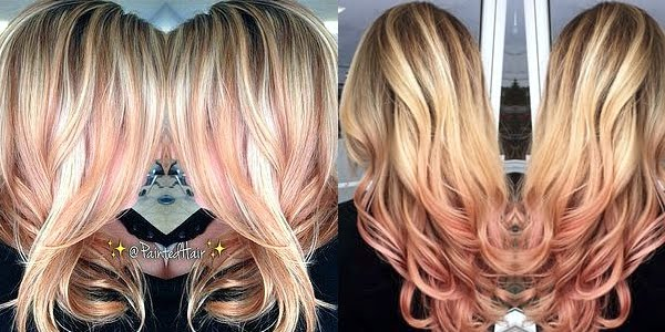 Stunning Rose Gold Hairstyles The Haircut Web