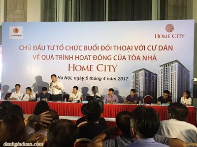 Trả lời chưa thoả đáng, cư dân Home City bức xúc với lối đi toà nhà