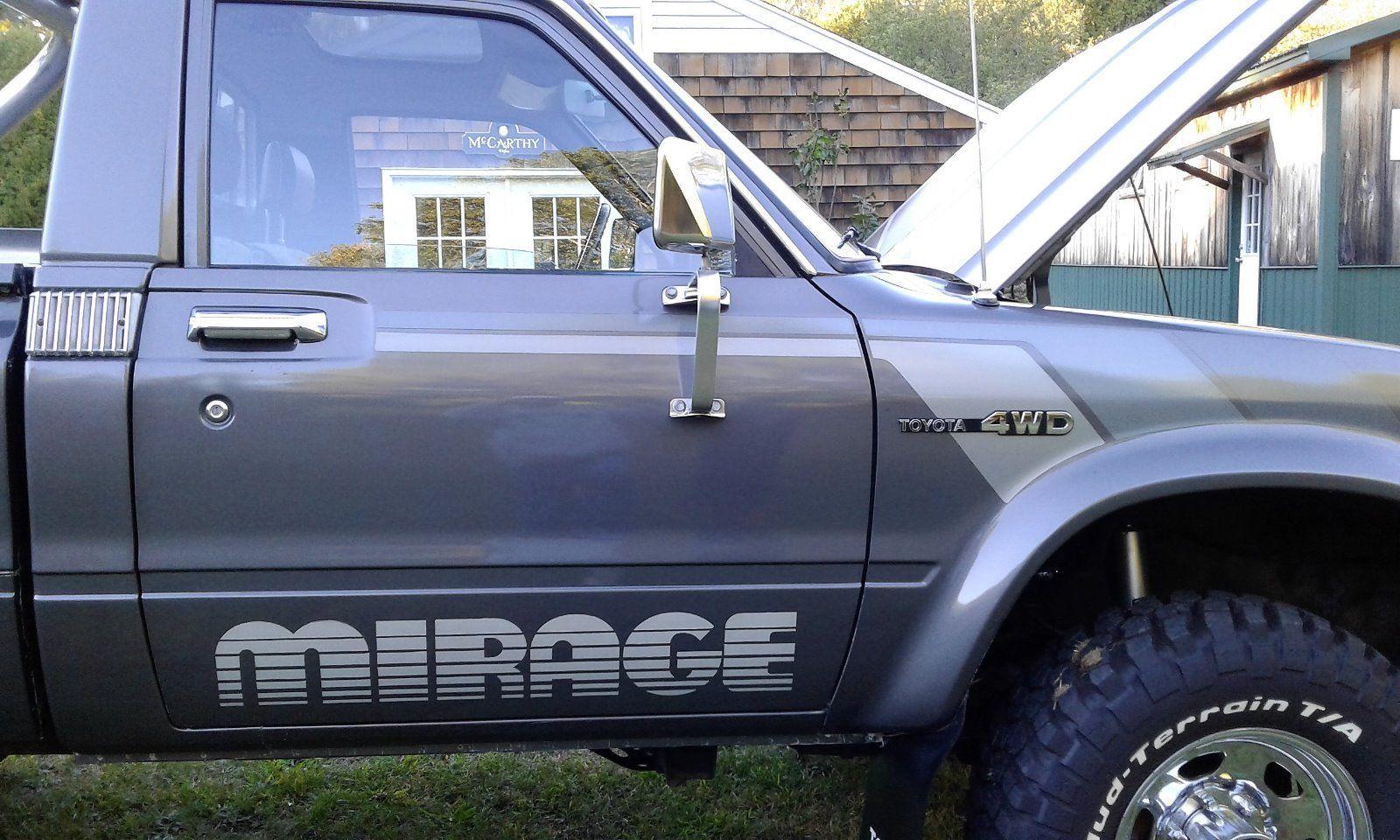 "1983 Toyota SR-5 4x4 Pickup Truck ""Mirage Limited Edition ..."