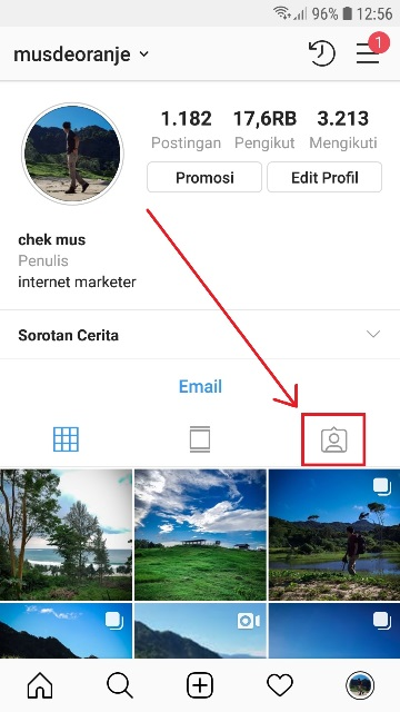 Cara Menyembunyikan Foto Yang Ditandai Di Instagram