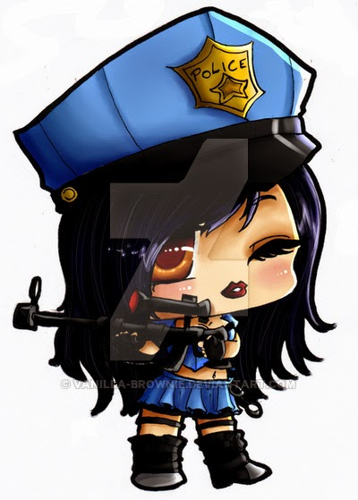 Caitlyn chibi cartoon