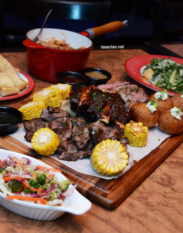 The BOSS Platter @  TGI Fridays - Perfect For Sharing