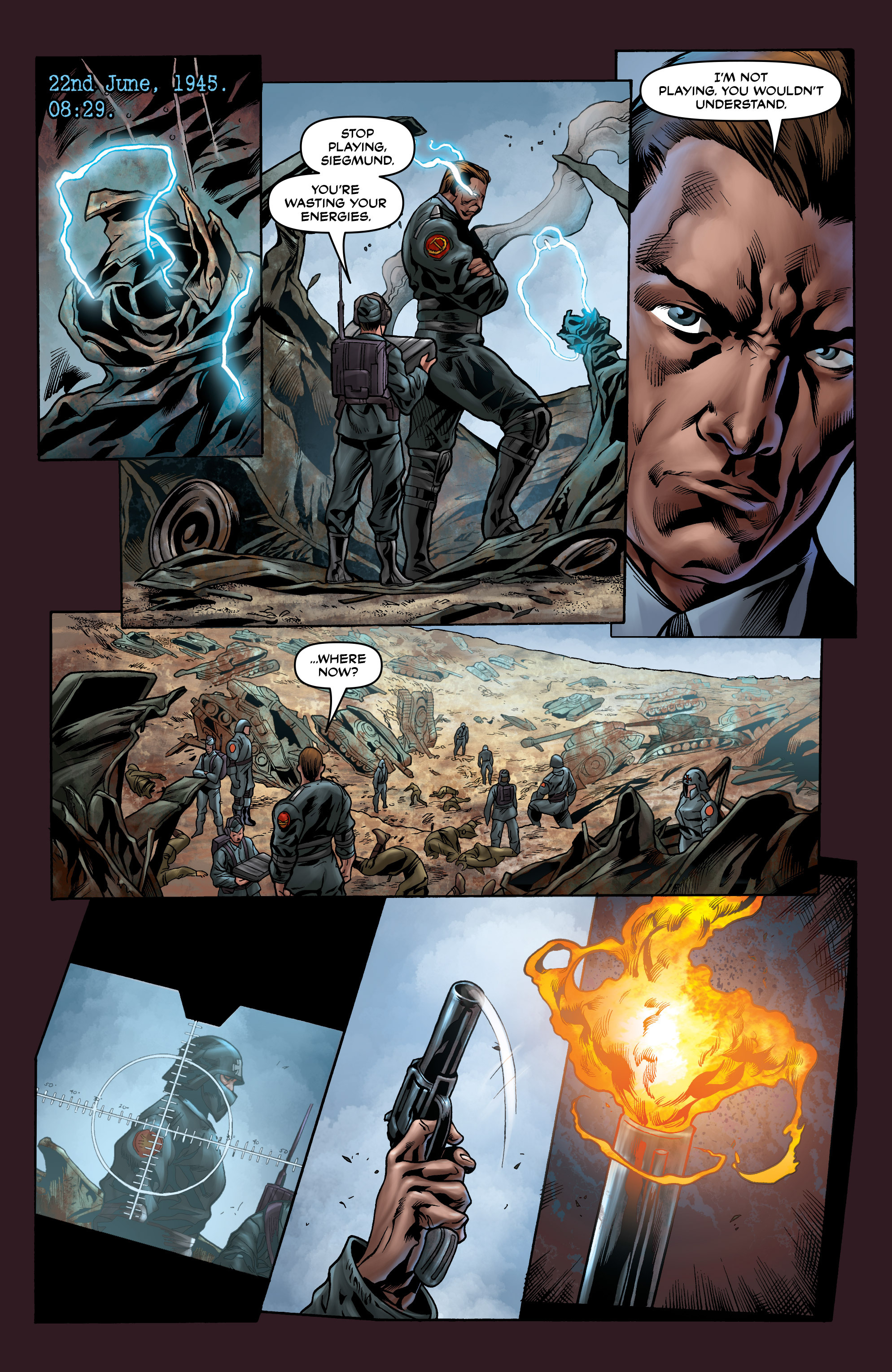 Read online Uber comic -  Issue #9 - 11