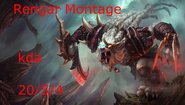Rengar Montage by amigo681 *BoMb | League of Legends | LoL