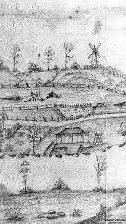 Moreton Bay convict settlement, 1830s