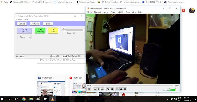 Cara Mengkoneksi Xiaomi Yi Action Camera Ke PC, Laptop atau Desktop