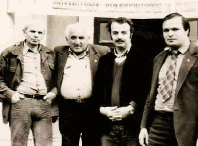 I. Akobia, V. Israelov, D. Gurgenidze y M. Gromov en Odessa en 1985