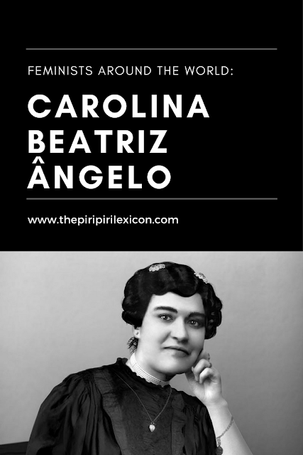 Carolina Beatriz Ângelo: feminist and suffragette