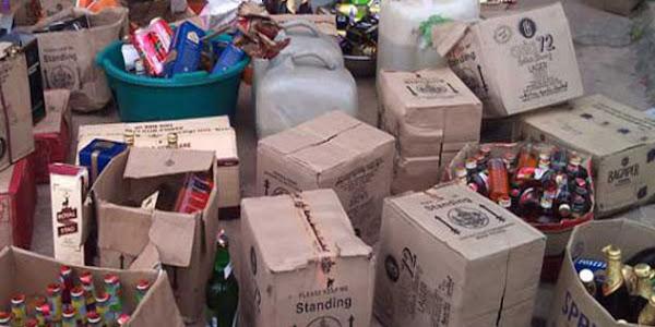 लाखो की अवैध शराब के साथ चालक गिरफ्तार
