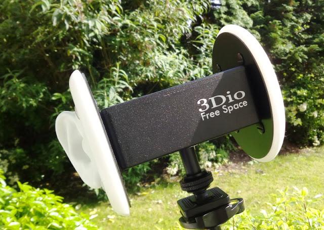 3Dio Gratuitous Infinite Binaural Microphone Records 100% Pure Binaural Audio!