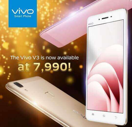 Vivo V3 Gets A Huge Discount, Now Only Php7,990