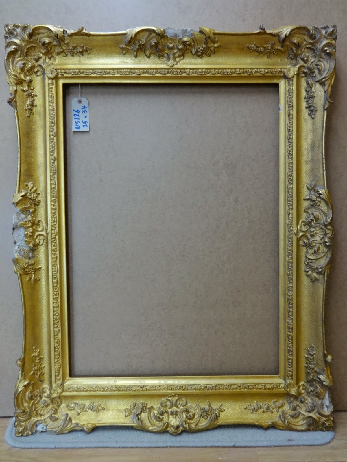 Antique Frame Sale: Victorian Swept Rococo Frame