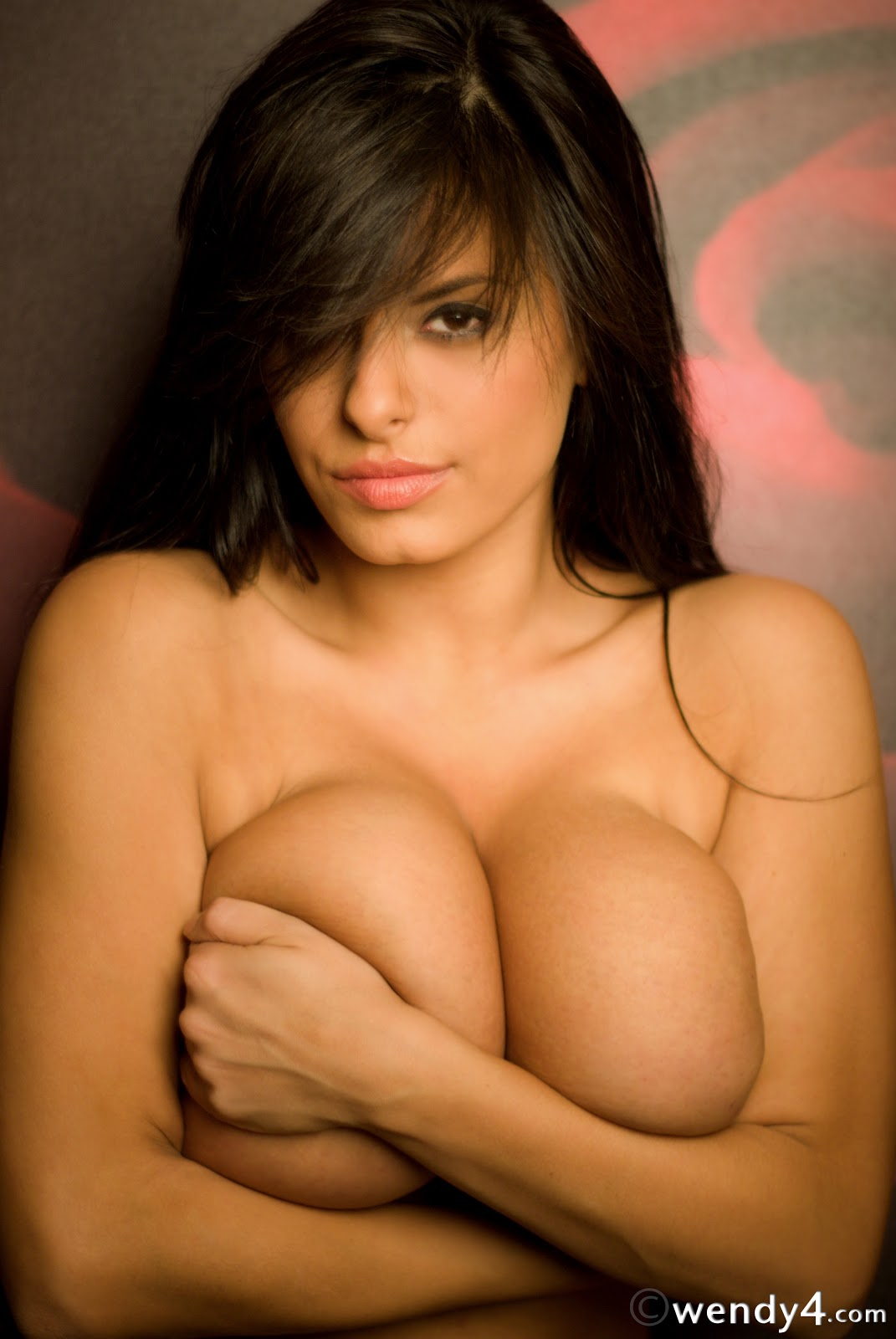 Denise Milani Sexy Boobs