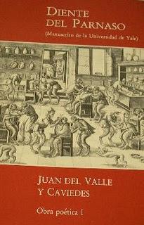 RESUMEN DIENTE DEL PARNASO - Juan del Valle y Caviedes