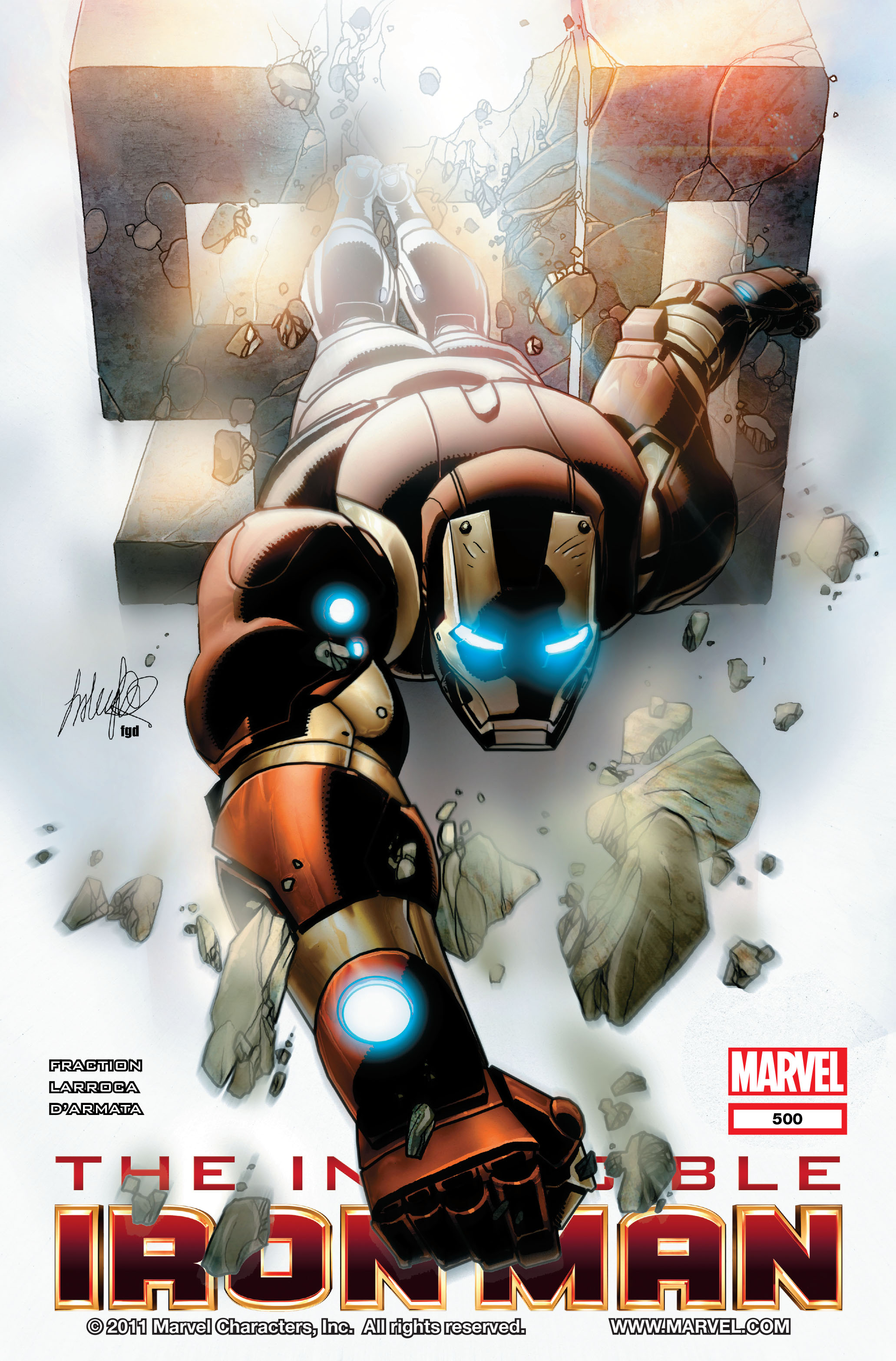 Invincible Iron Man (2008) 500 Page 1