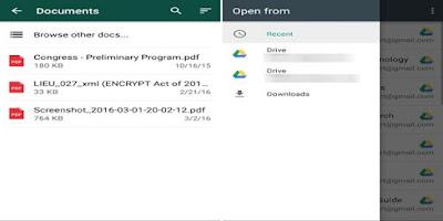 WhatsApp Kini Bisa Mengirimkan Pesan Dengan Format PDF