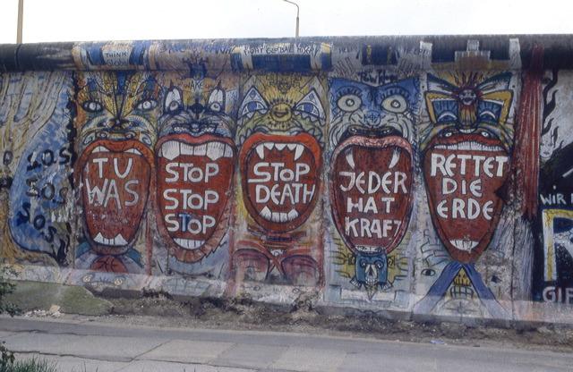 Berlin Wall Indiano Art GRAFFITI PHOTOS INDIANO BERLINER MAUER 198419902012