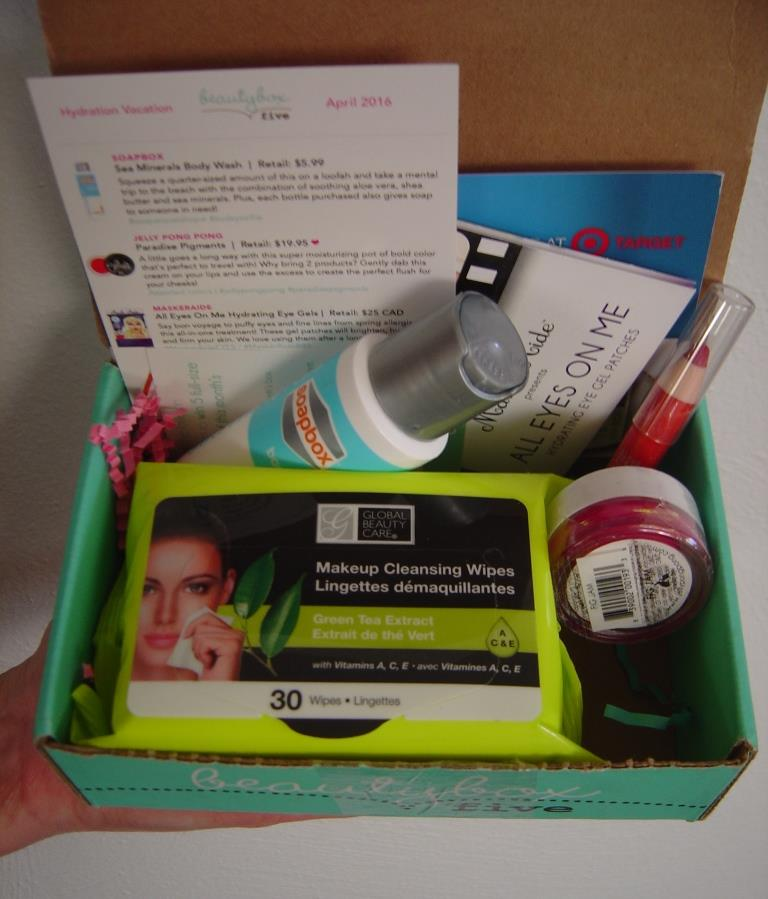 Beauty Box 5 April 2016