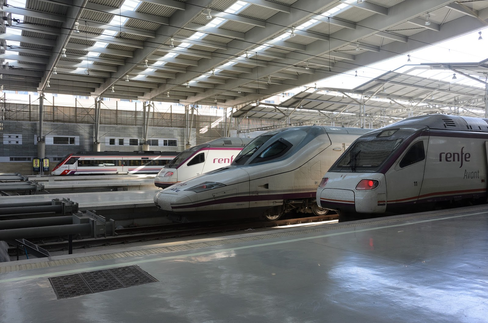 Los trenes entre Madrid-Alicante y Barcelona-Alicante tienen Wifi gratuito