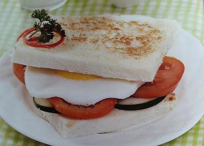 Gambar Resep Roti Bakar Telur Ceplok