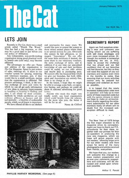 The Cat magazine January/February 1975