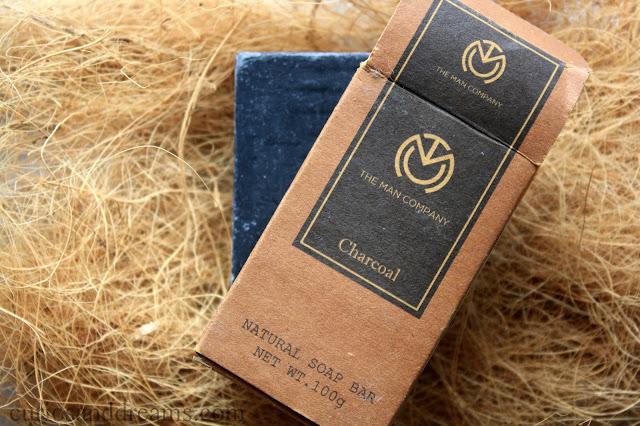 The Man Company's Charcoal Soap, The Man Company's Charcoal Soap review, Charcoal Soap review, The Man Company