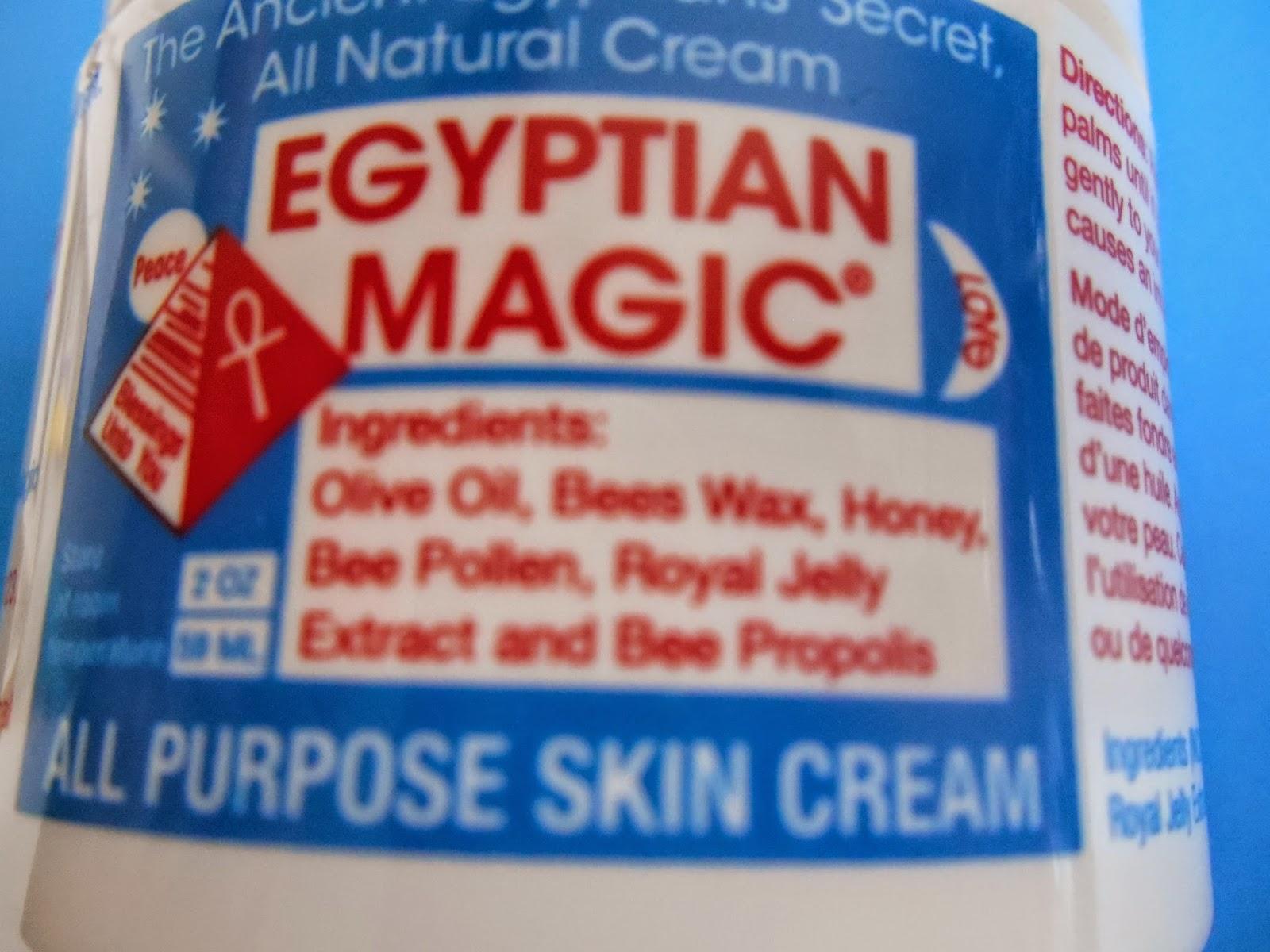 Cr me egyptian magic 25 euros environ les 60 ml 35 - Homeoplasmine coup de soleil ...